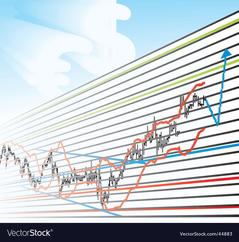 Profit graphs vector   Price: 1 Credit (USD $1)