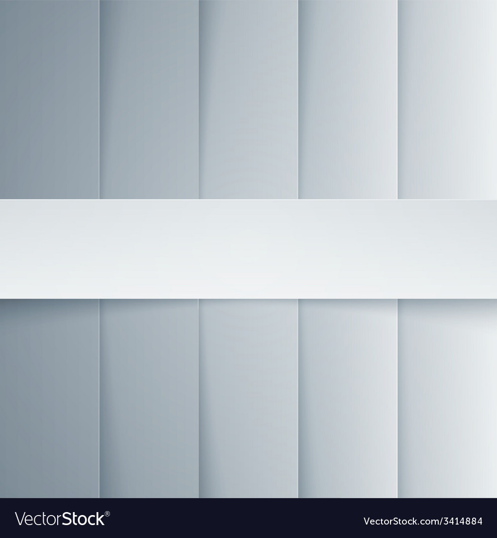 Gray and white paper rectangle shapes background vector | Price: 1 Credit (USD $1)