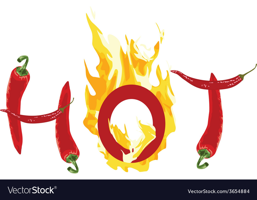 Hot of the peppers vector | Price: 1 Credit (USD $1)