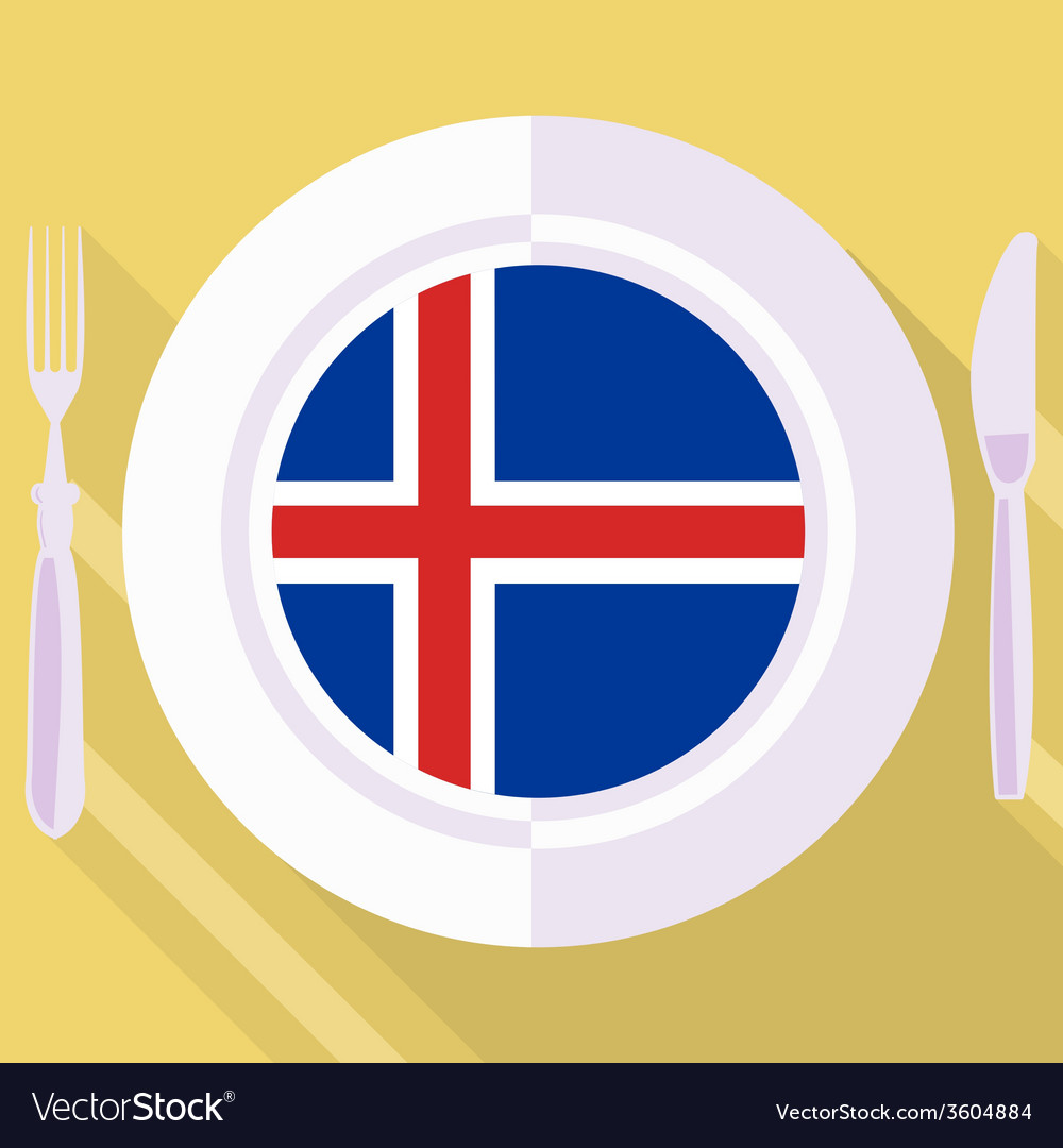 Kitchen of iceland vector | Price: 1 Credit (USD $1)
