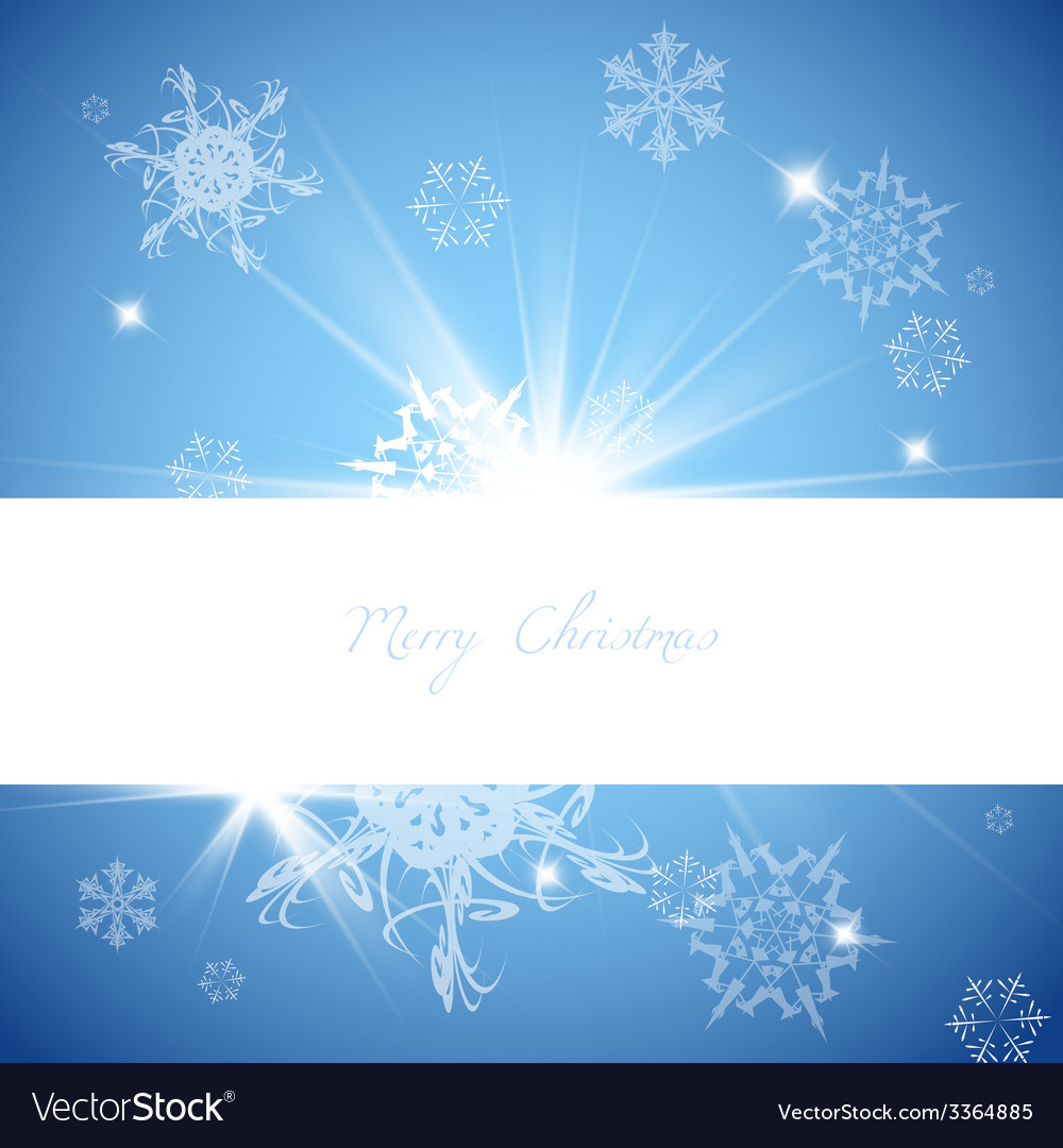 Blue christmas background vector | Price: 1 Credit (USD $1)