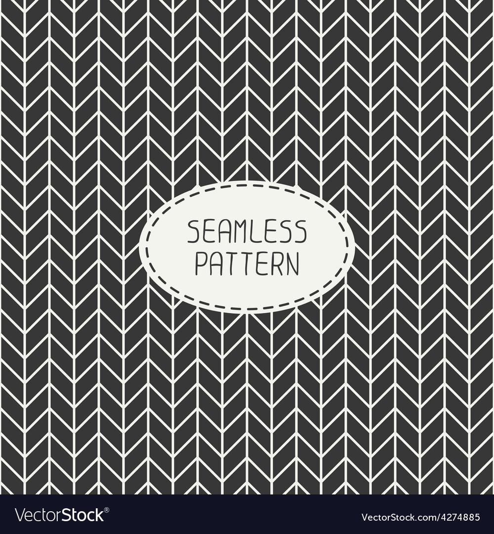 Retro chevron zigzag stripes geometric vector | Price: 1 Credit (USD $1)
