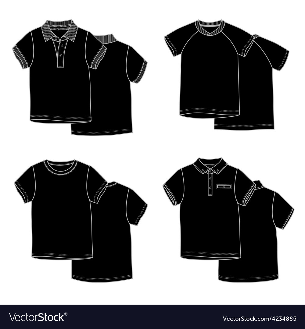 T-shirtsblack vector | Price: 1 Credit (USD $1)