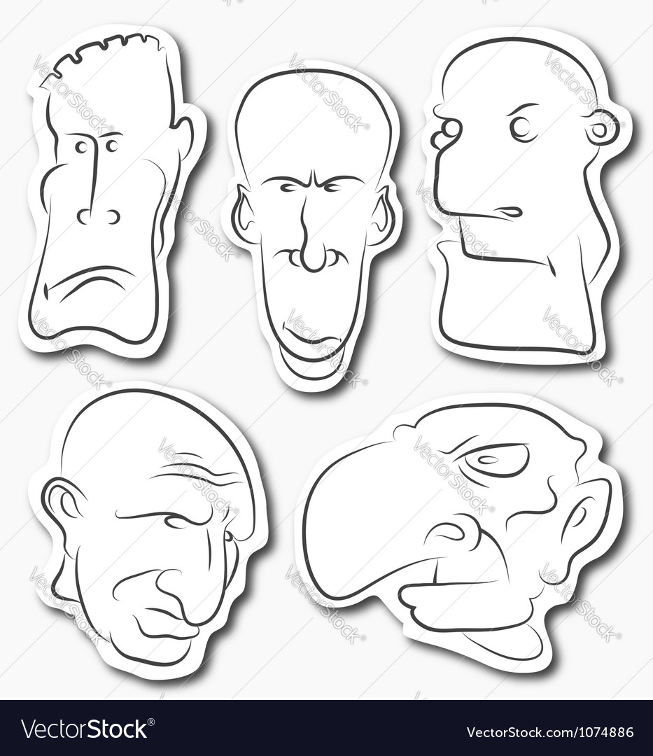 Face vector | Price: 1 Credit (USD $1)