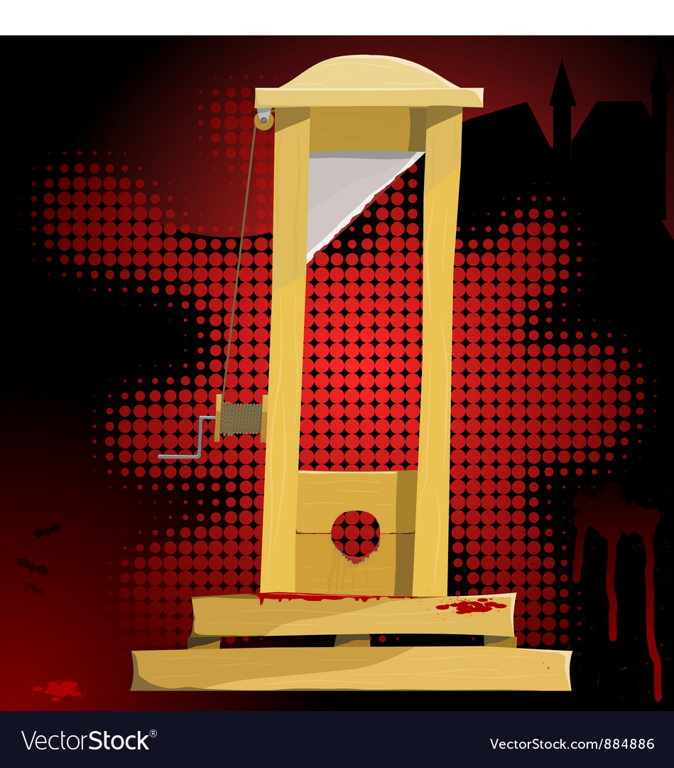 Guillotine vector | Price: 1 Credit (USD $1)