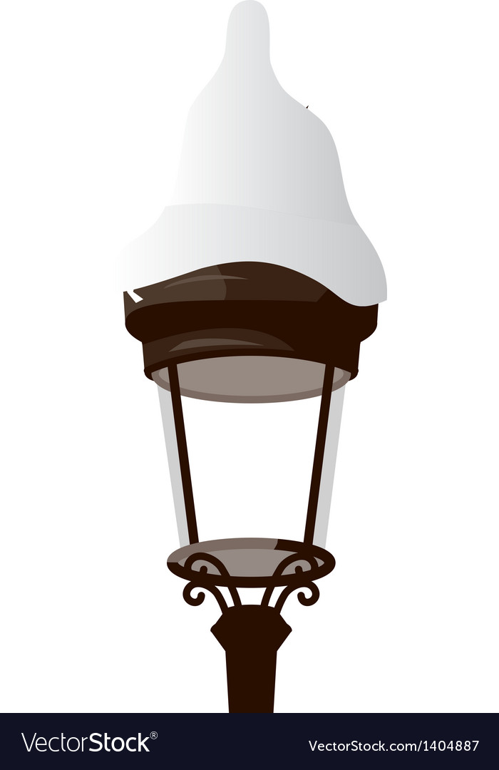 A street light vector | Price: 1 Credit (USD $1)