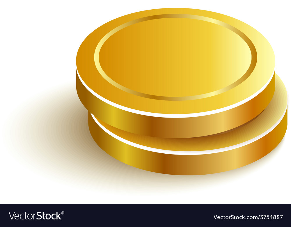 Twogoldcoins vector   Price: 1 Credit (USD $1)