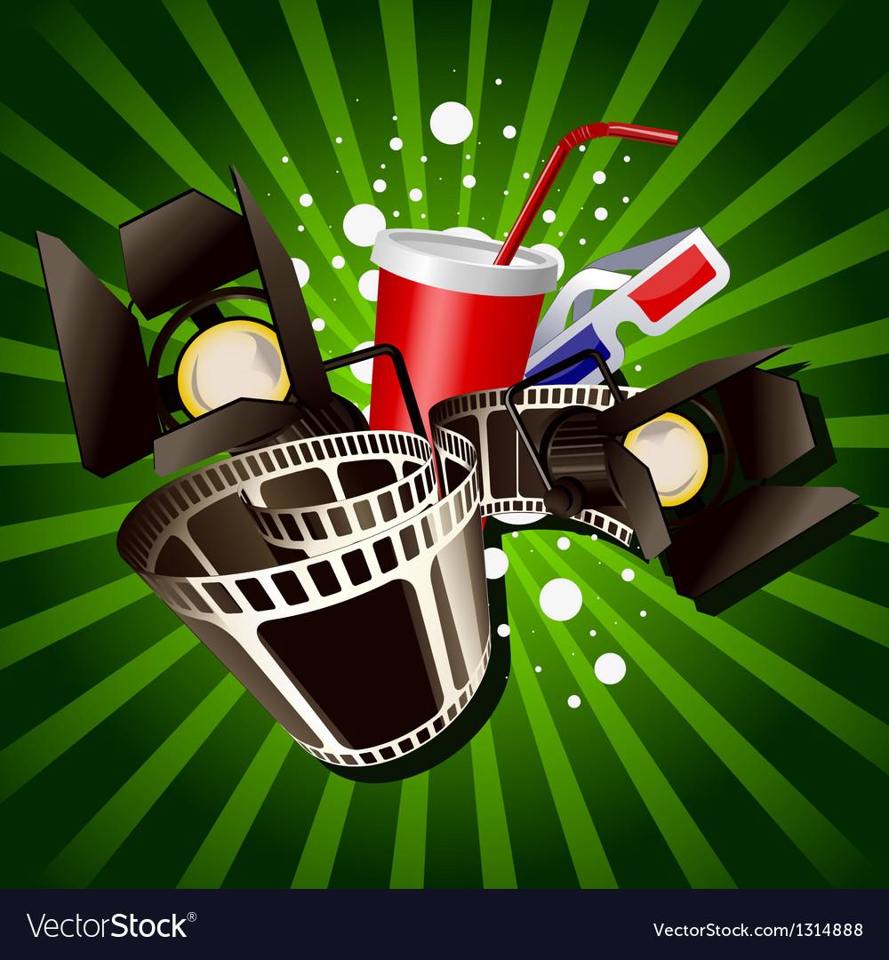 Movie vector | Price: 3 Credit (USD $3)