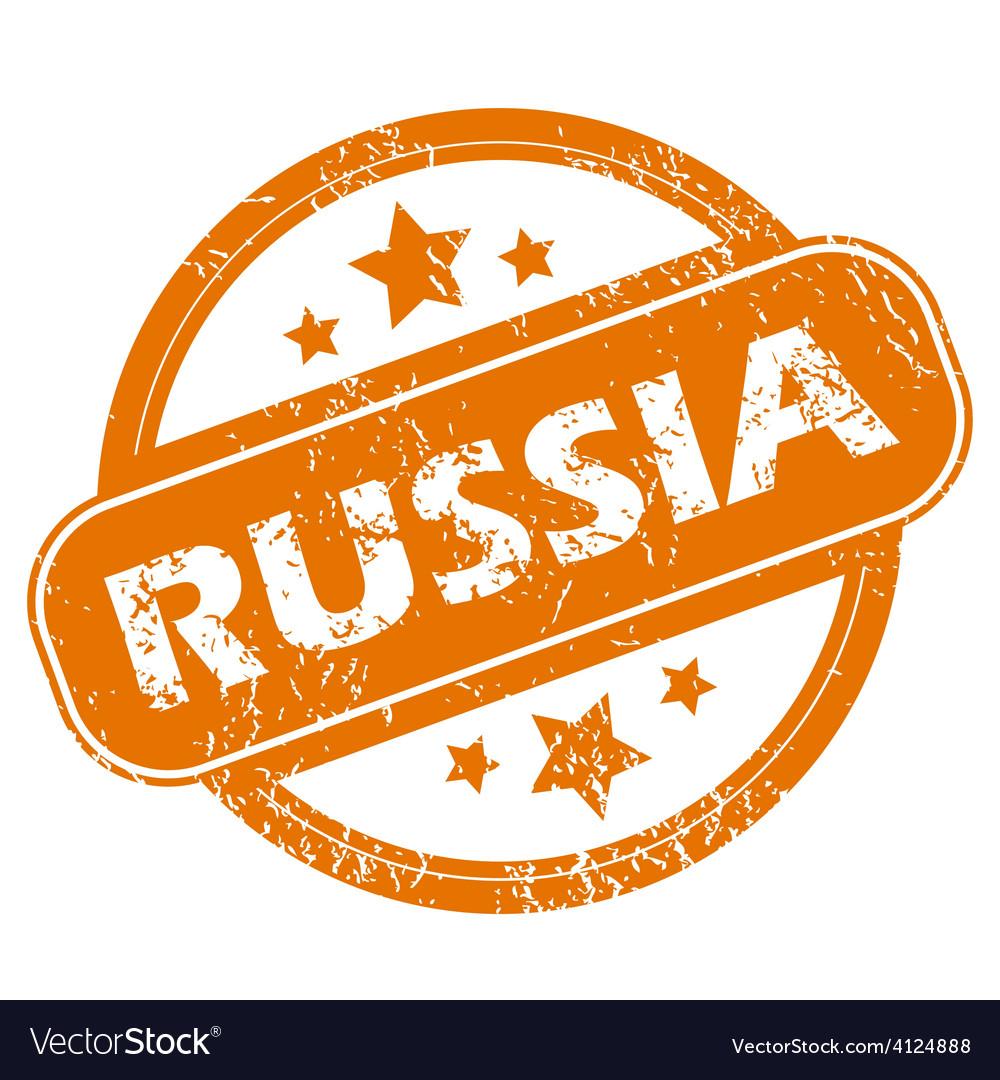 Russia grunge icon vector | Price: 1 Credit (USD $1)