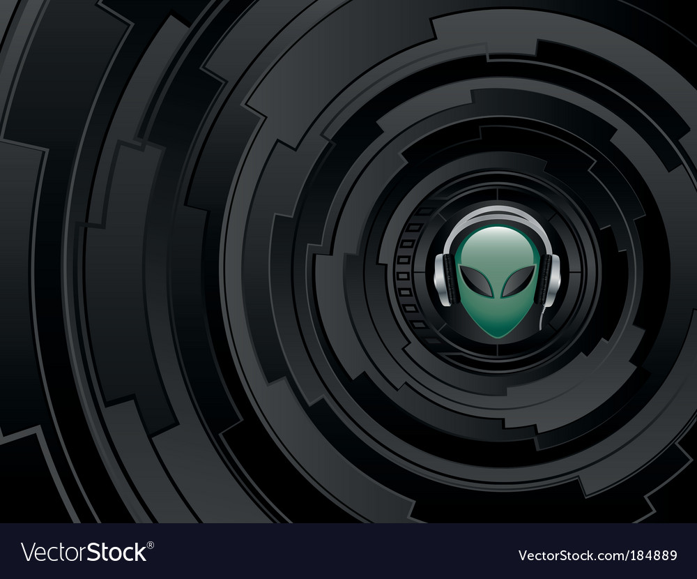 Alien vector | Price: 1 Credit (USD $1)