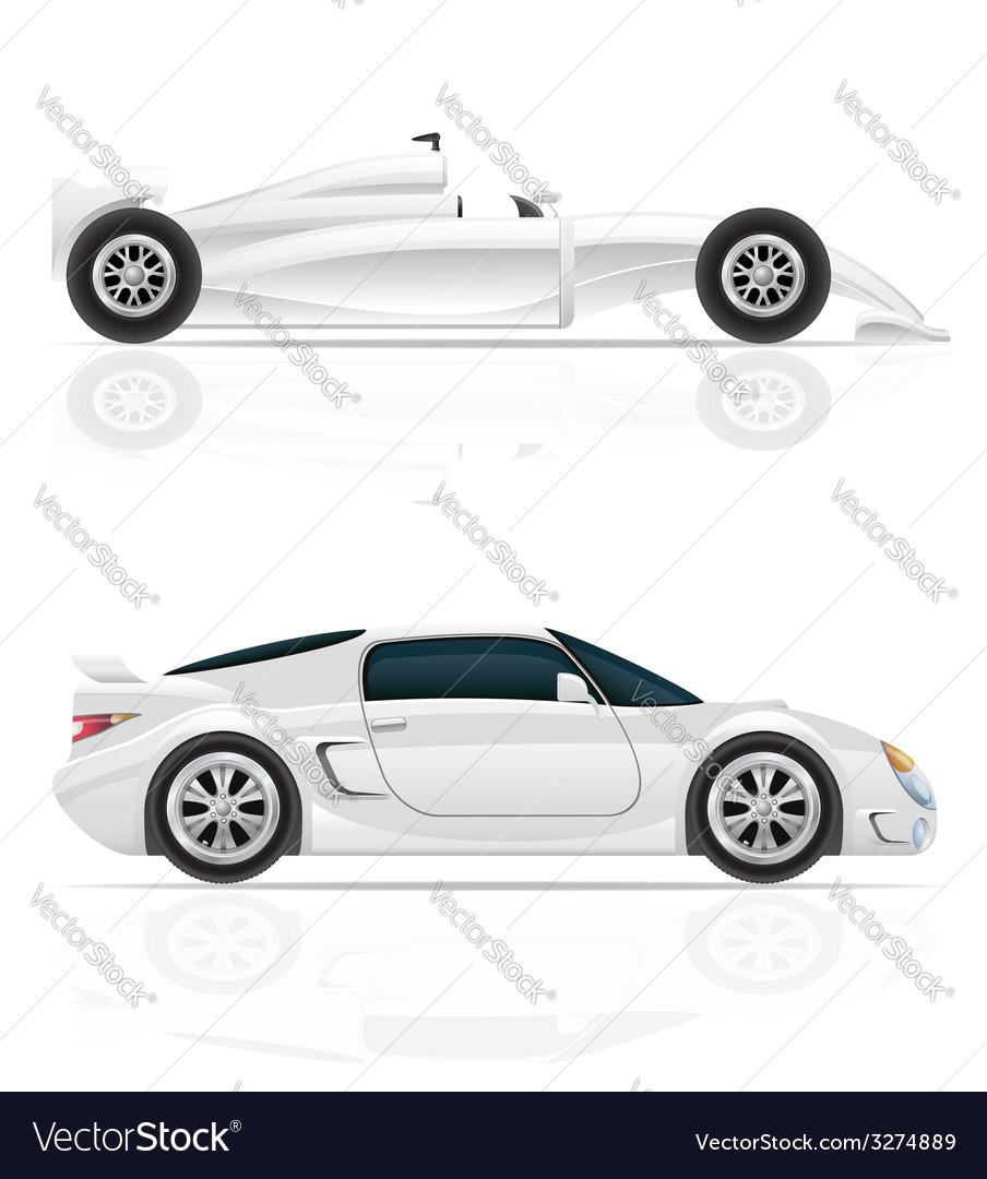 Sport car 03 vector | Price: 3 Credit (USD $3)