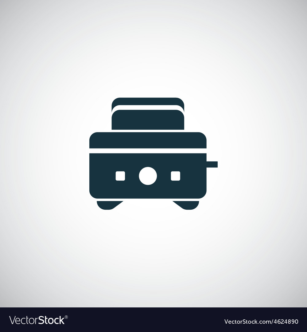 Toaster icon vector | Price: 1 Credit (USD $1)