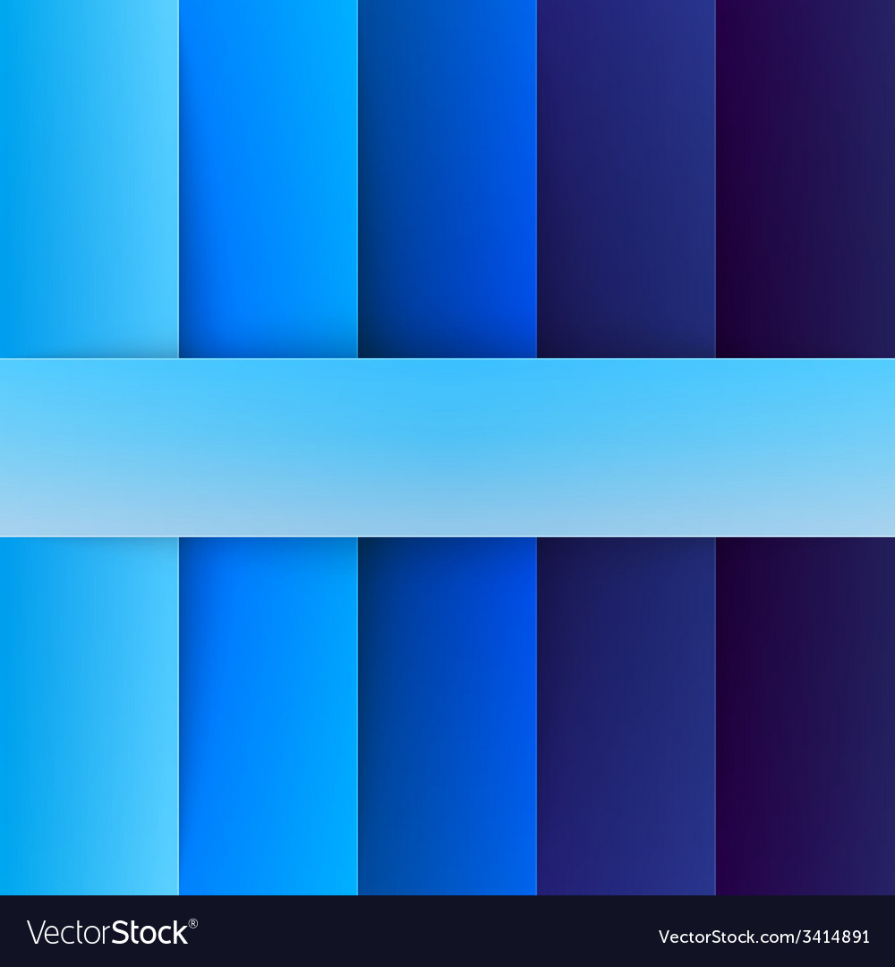 Abstract blue rectangle shapes background vector | Price: 1 Credit (USD $1)