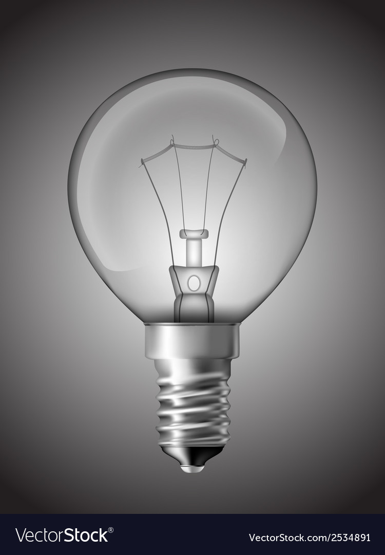 Light bulb for bedside lamp vector | Price: 1 Credit (USD $1)