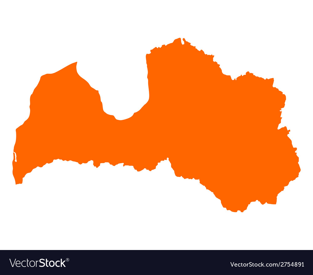 Map of latvia vector   Price: 1 Credit (USD $1)