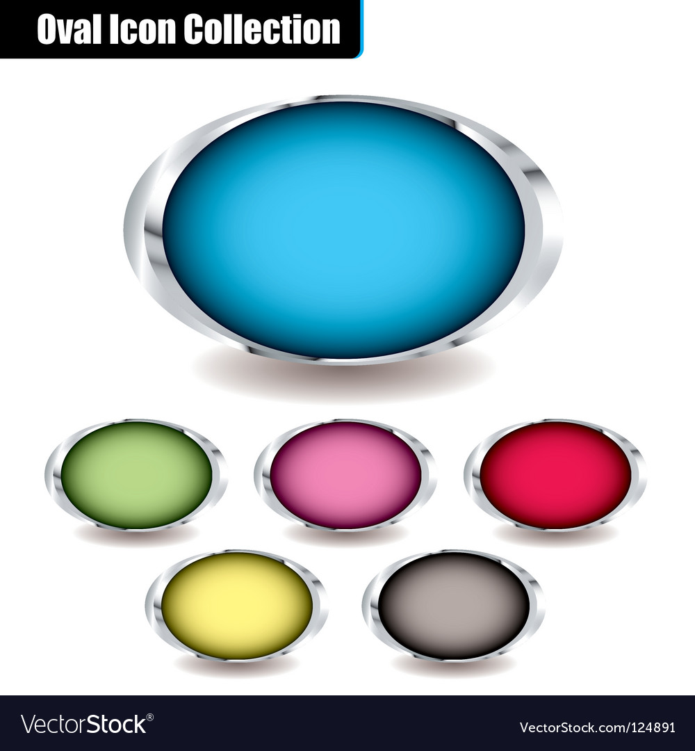 Oval collection vector   Price: 1 Credit (USD $1)