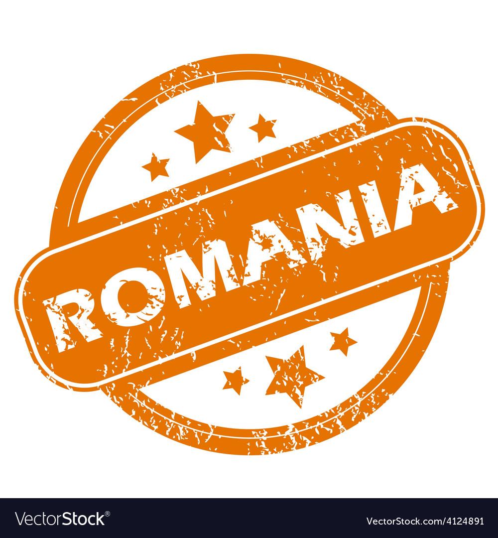 Romania grunge icon vector | Price: 1 Credit (USD $1)