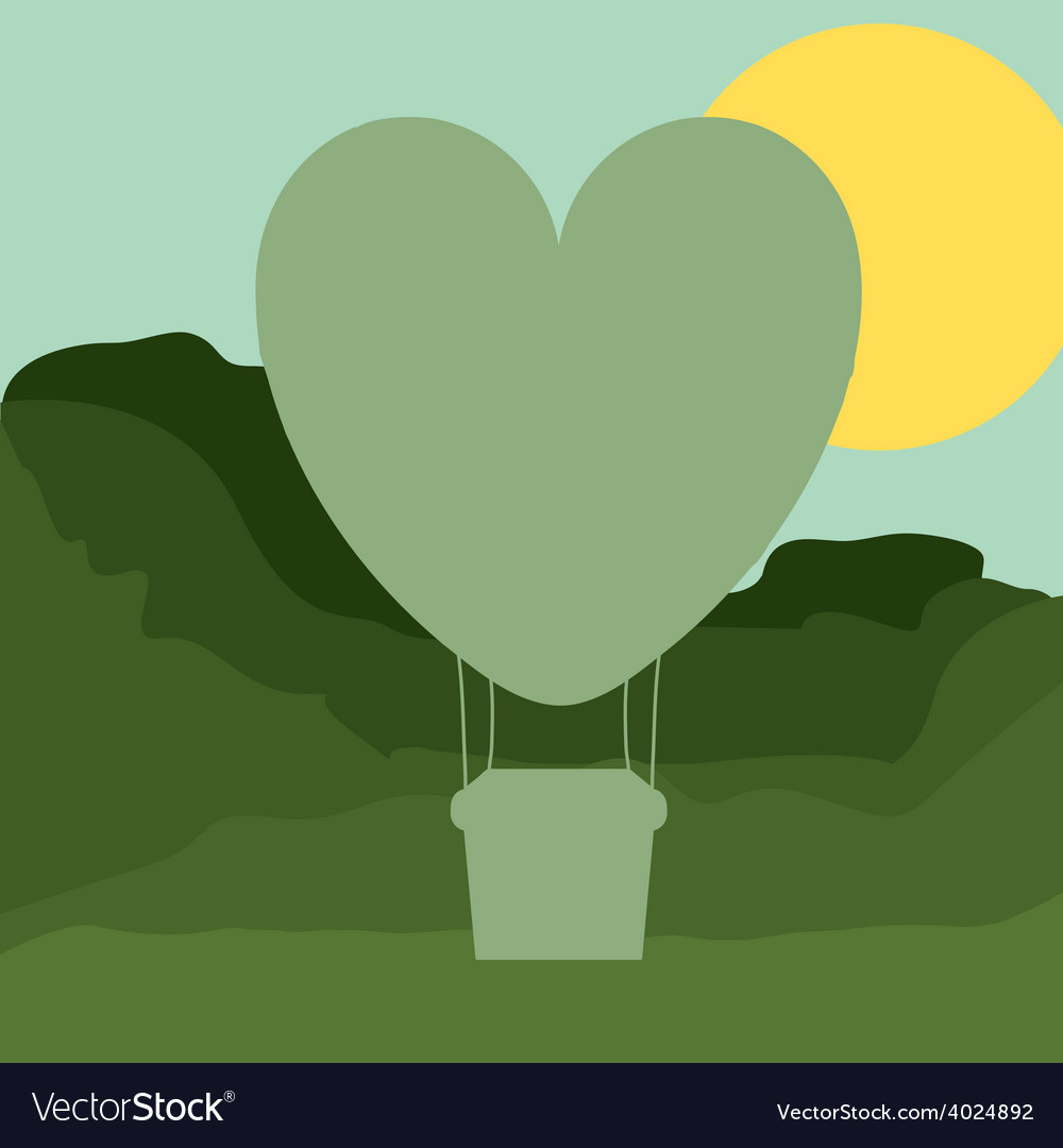 Air balloon desing vector | Price: 1 Credit (USD $1)