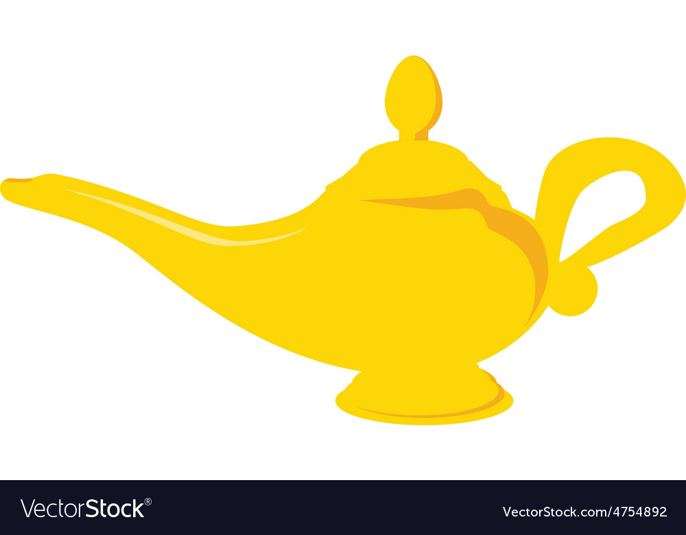 Aladdin lamp vector | Price: 1 Credit (USD $1)