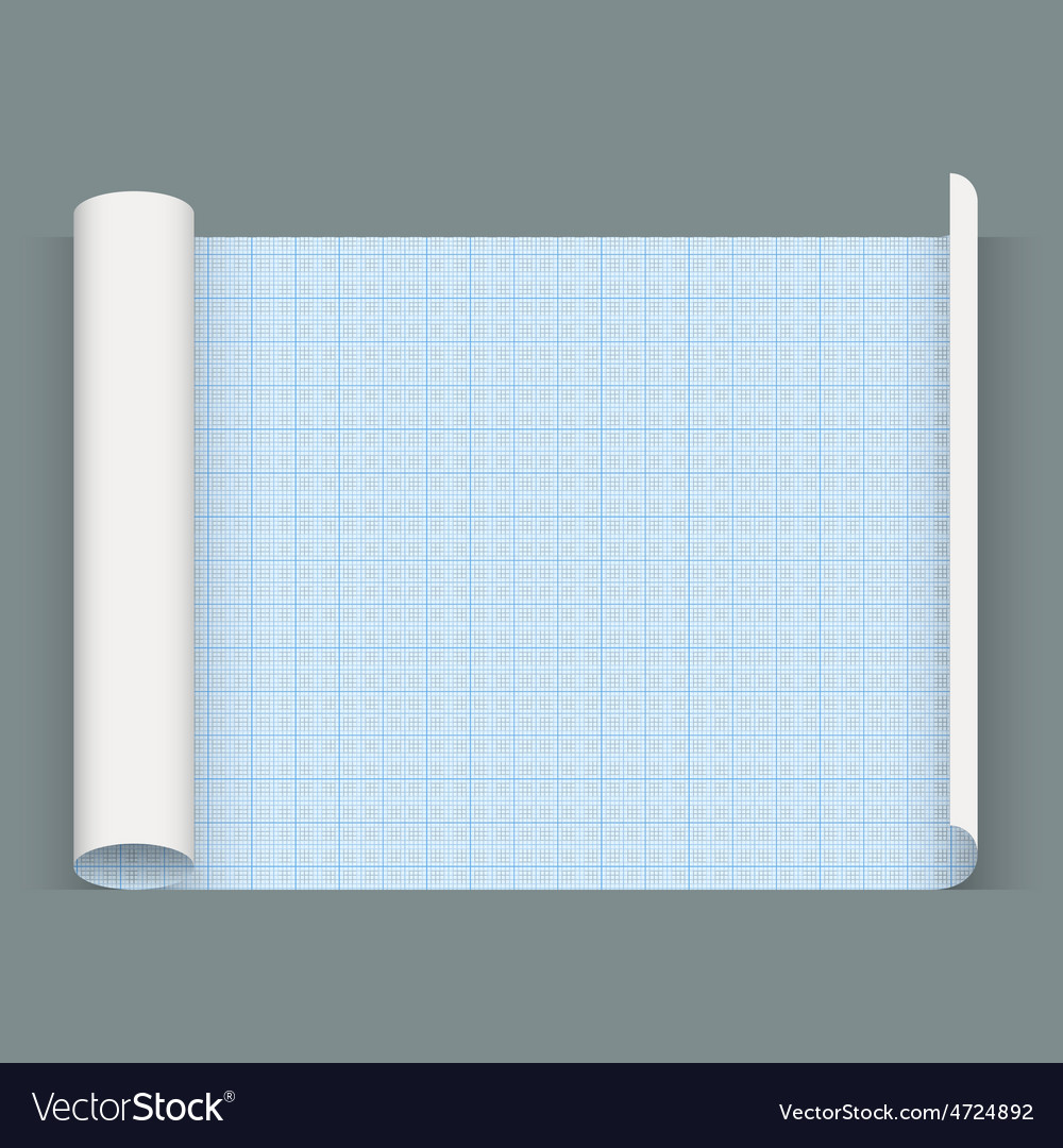 Big sheet of a squared paper whatman paper vector | Price: 1 Credit (USD $1)