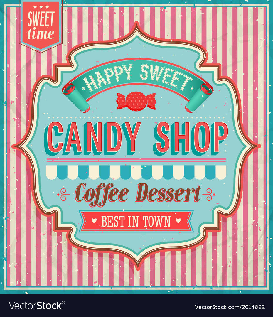 Candy shop vector | Price: 1 Credit (USD $1)