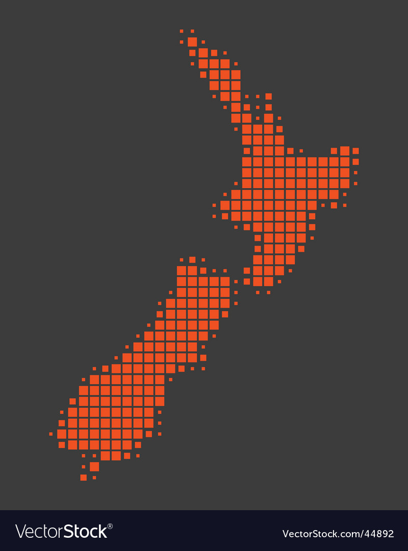 Map of new zealand vector   Price: 1 Credit (USD $1)