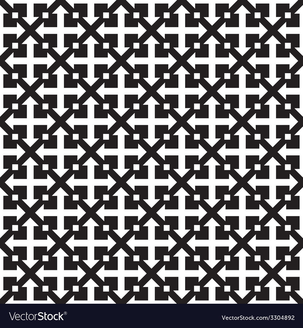 Repeating geometric seamless pattern vector | Price: 1 Credit (USD $1)