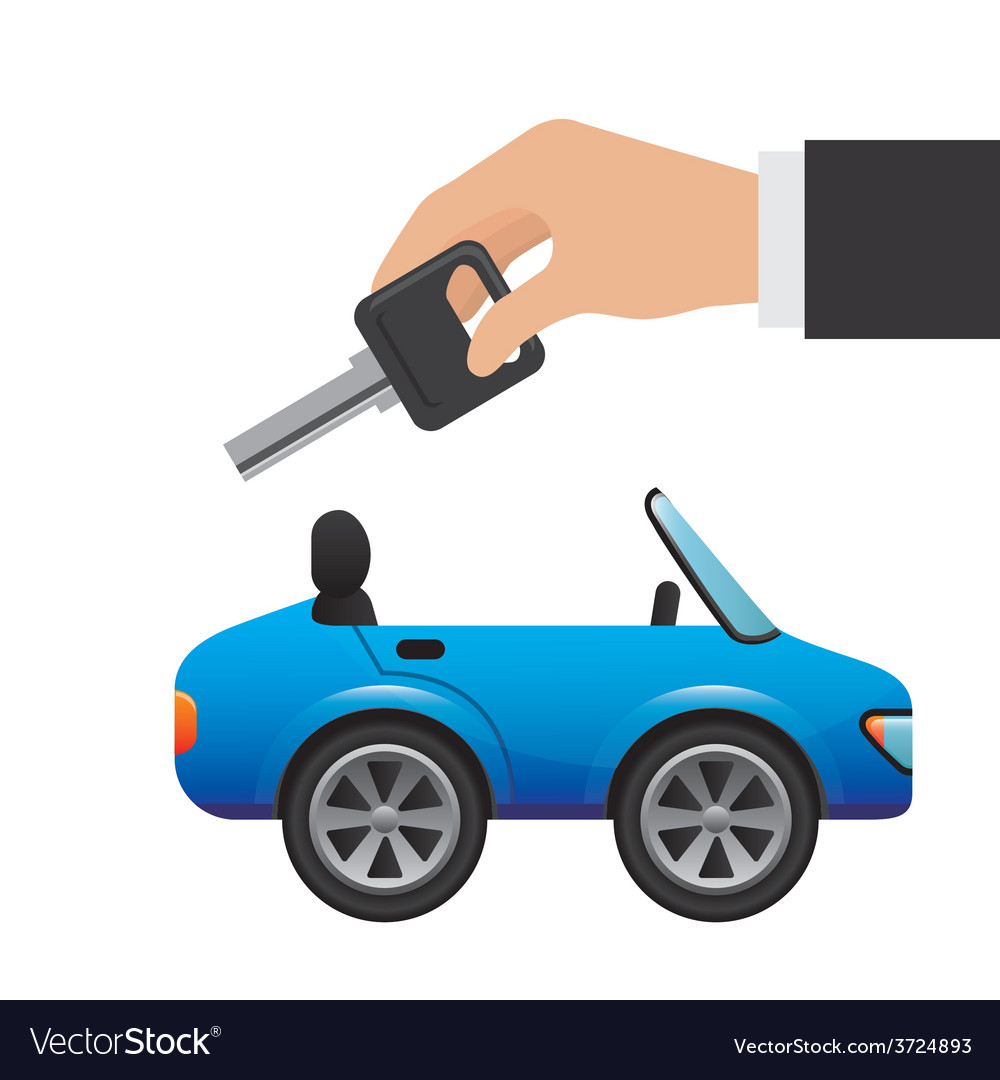 Buy a car vector | Price: 1 Credit (USD $1)