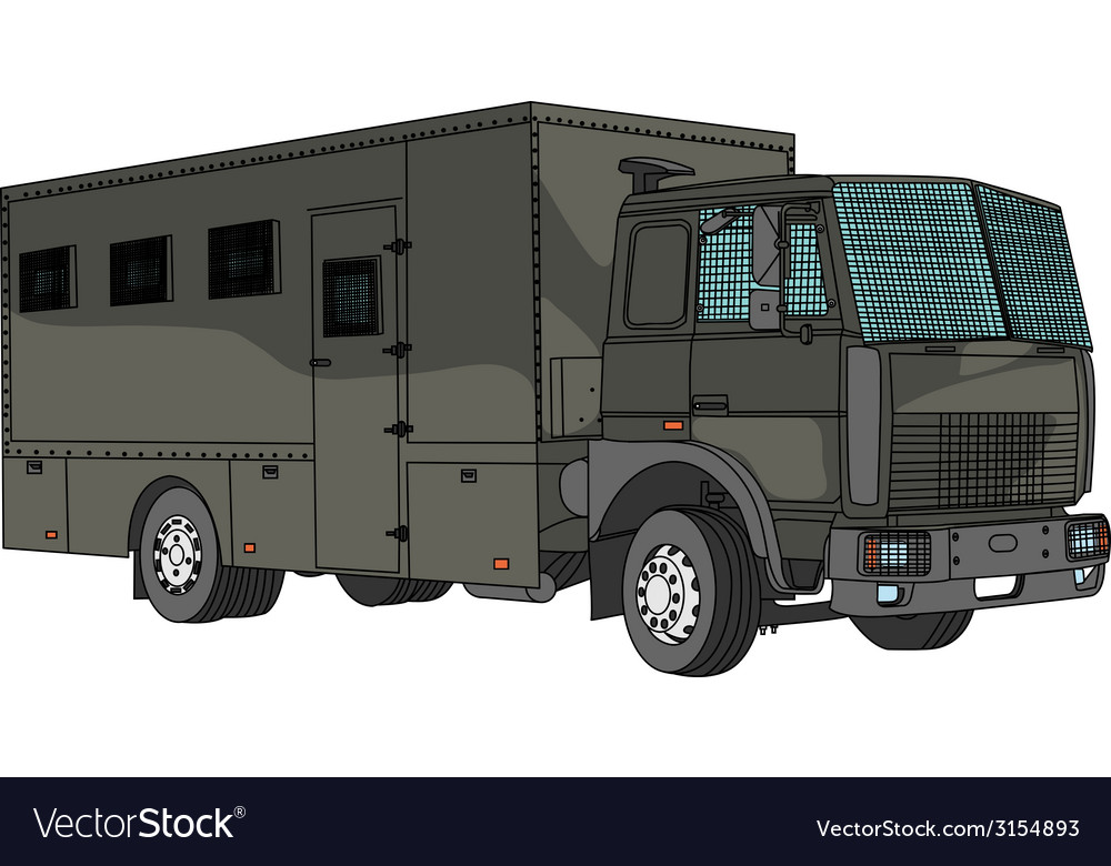 Paddy wagon vector | Price: 1 Credit (USD $1)
