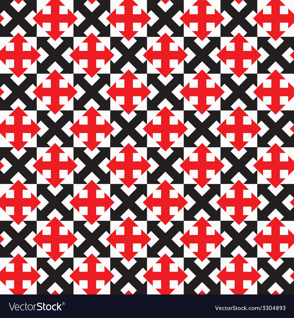 Repeating geometric seamless pattern vector   Price: 1 Credit (USD $1)