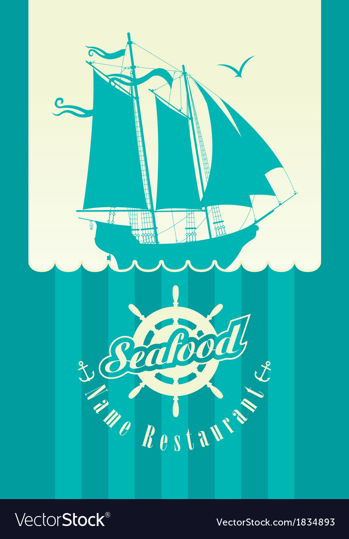 Restaurant seafood vector | Price: 1 Credit (USD $1)