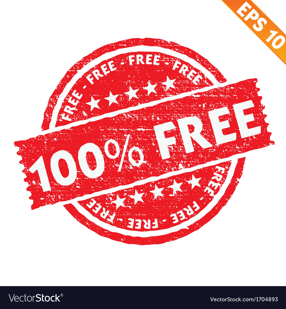 Stamp sticker free collection - - eps10 vector | Price: 1 Credit (USD $1)