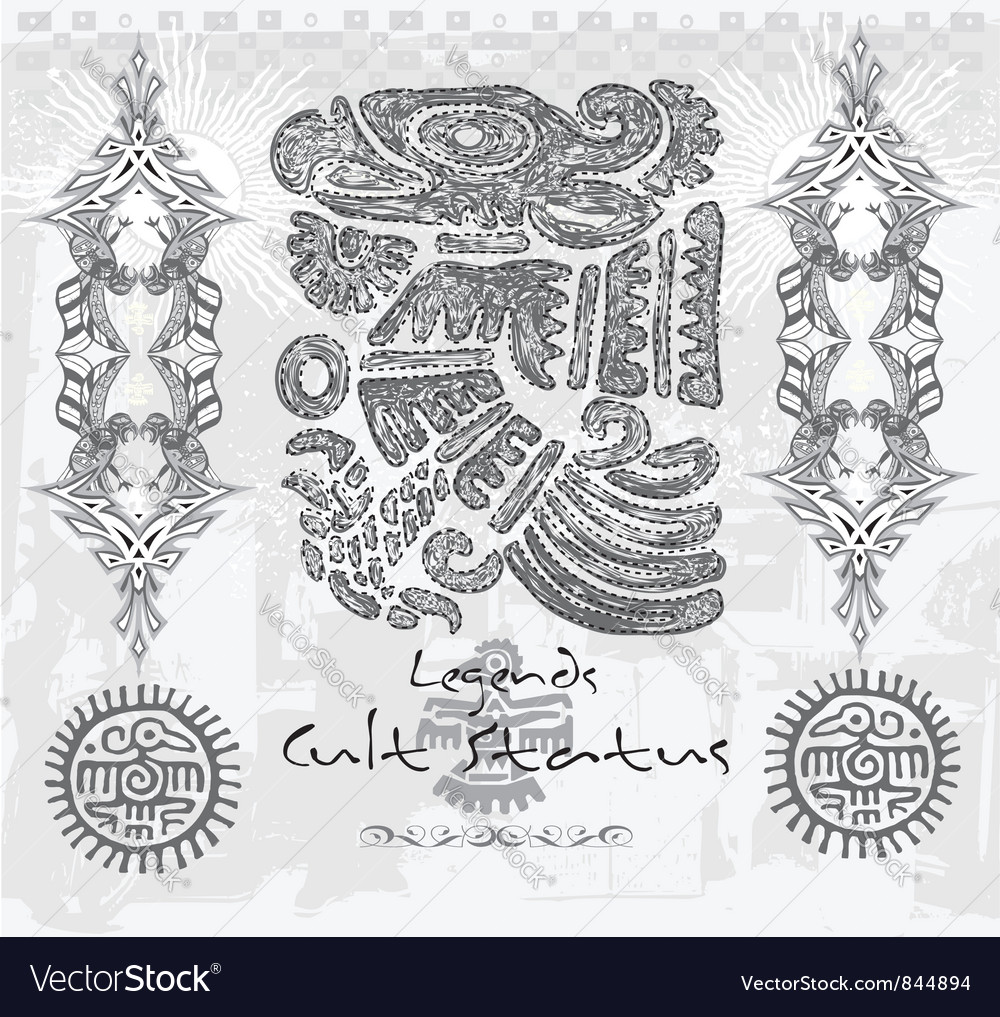 Astec indian bird vector | Price: 1 Credit (USD $1)