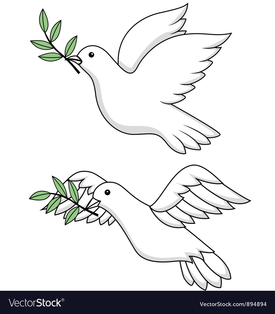 Dove vector | Price: 3 Credit (USD $3)