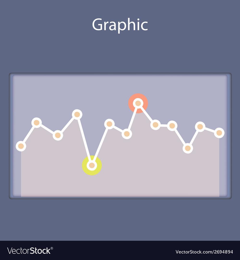 Minimalistic progressive diagramscheme vector | Price: 1 Credit (USD $1)