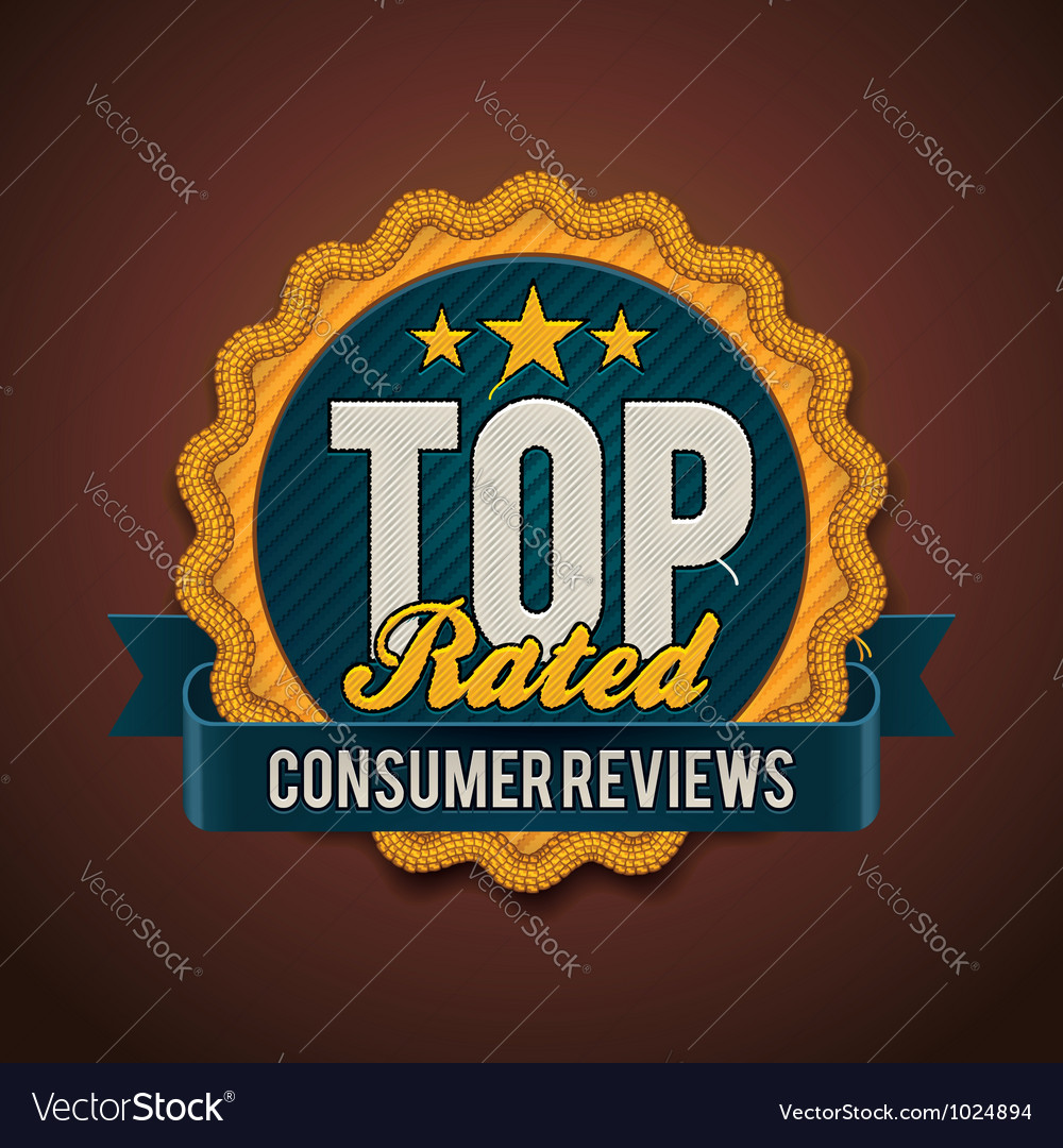 Top rated badge vector | Price: 3 Credit (USD $3)
