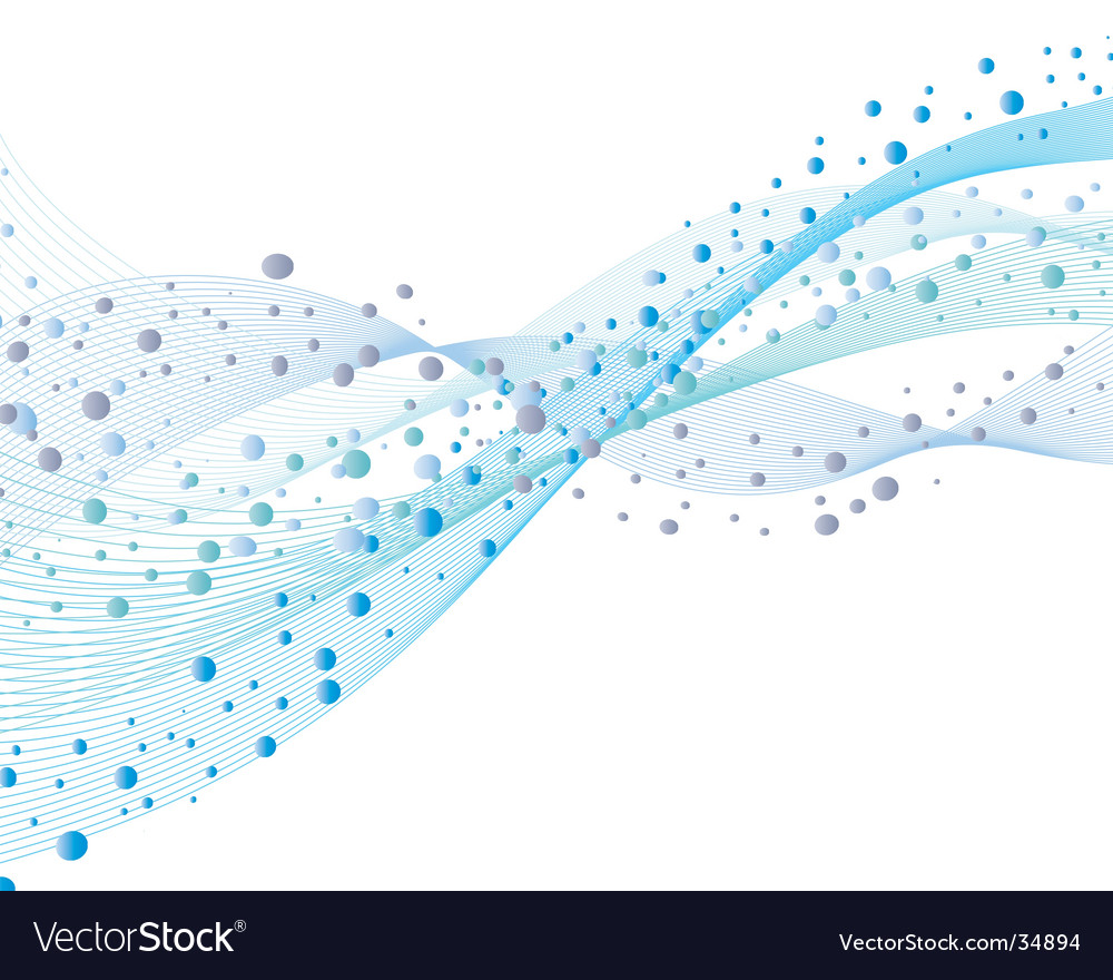 Water and bubbles vector | Price: 1 Credit (USD $1)