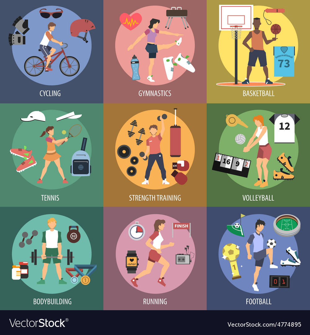Sport people concepts vector | Price: 3 Credit (USD $3)