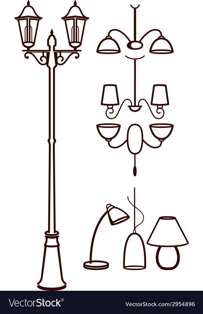 Lighting equipment vector   Price: 1 Credit (USD $1)