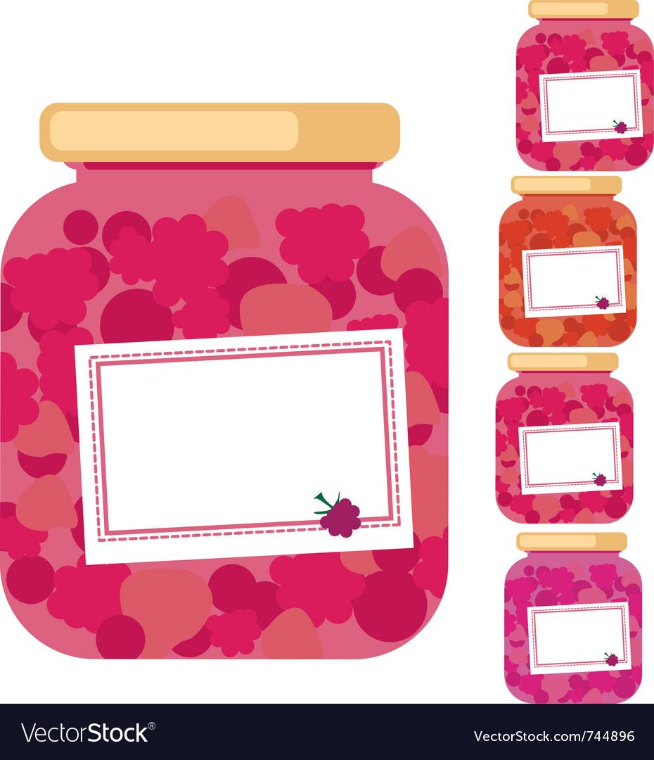 Marmalade jar vector | Price: 1 Credit (USD $1)