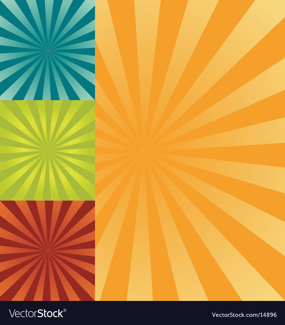 Retro burst background vector | Price: 1 Credit (USD $1)