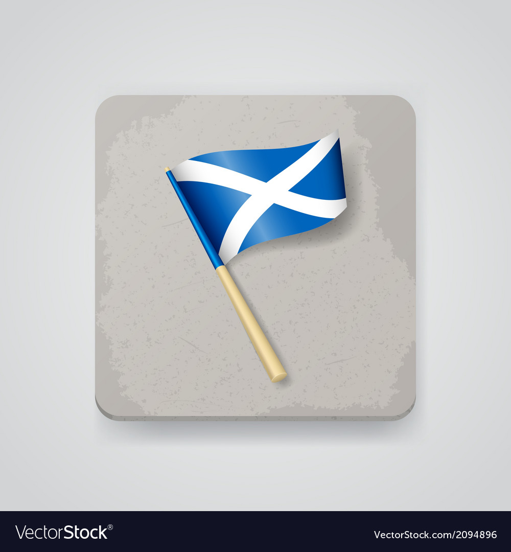 Scotland flag icon vector | Price: 1 Credit (USD $1)