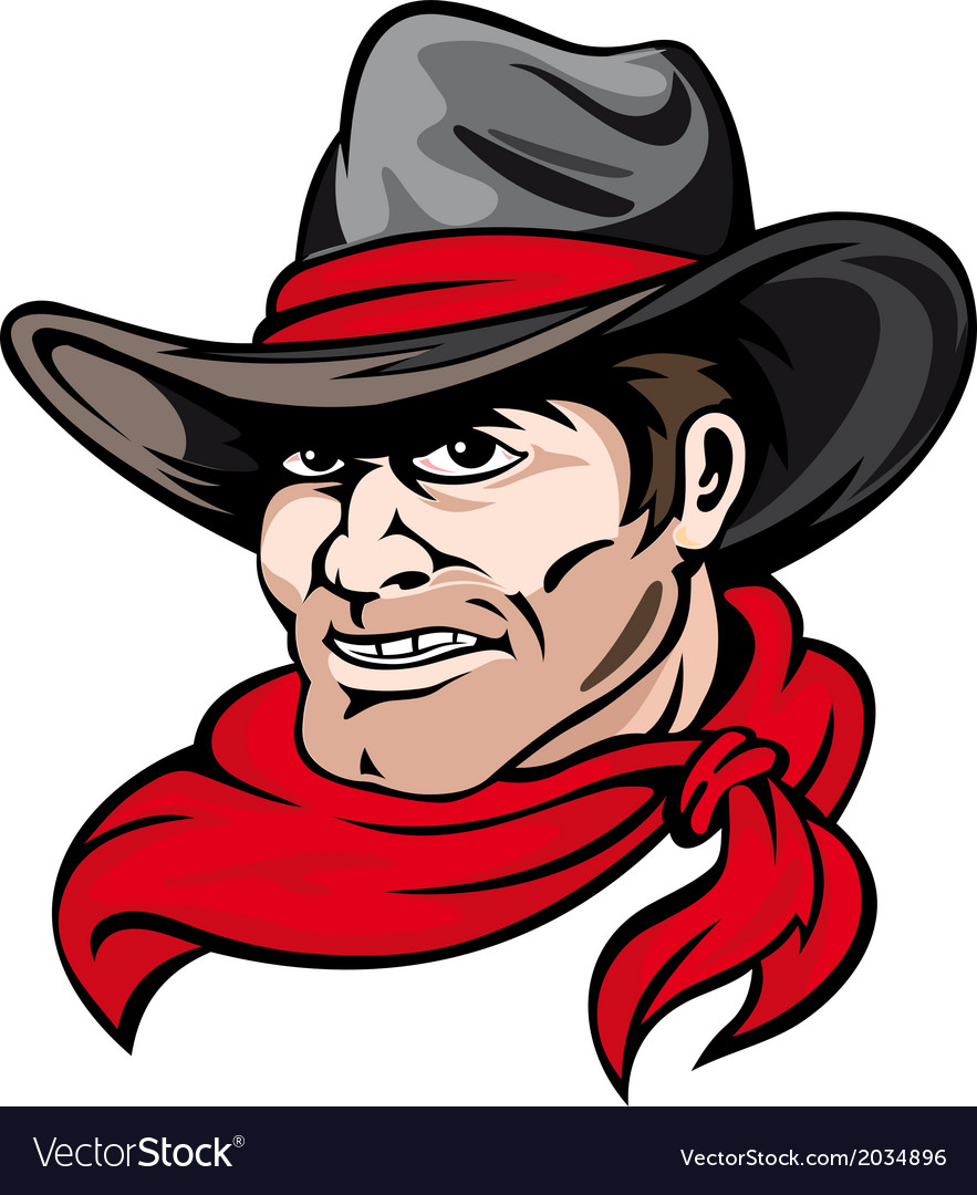 Texas cowboy vector | Price: 1 Credit (USD $1)
