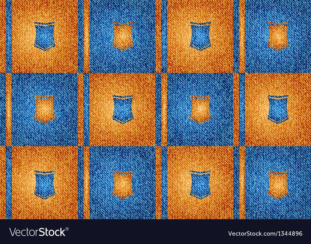 Texture grain orange and blue vector | Price: 1 Credit (USD $1)