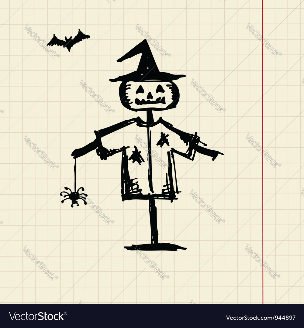 Halloween night symbol for your design vector | Price: 1 Credit (USD $1)