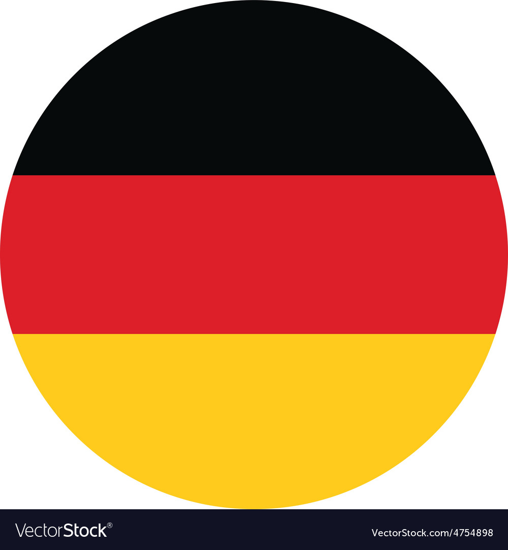 German flag vector | Price: 1 Credit (USD $1)