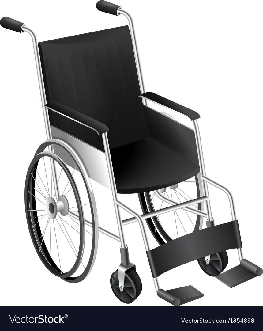 Wheelchair vector | Price: 1 Credit (USD $1)