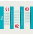 Modern design style infographic template layout vector