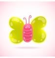 Cute cartoon butterfly vector