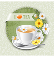 I love tea vector